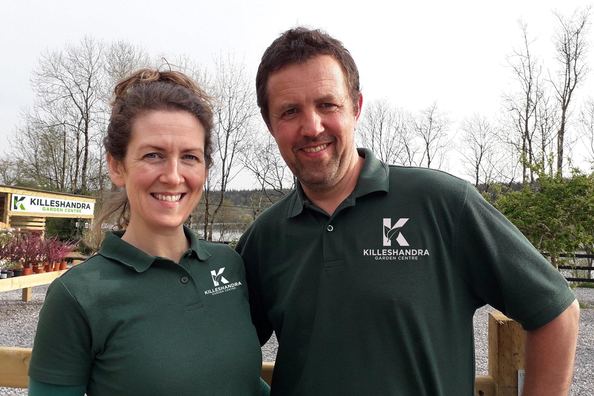 Deirdre & Phil Gilbride   Killeshandra Garden Centre   Killeshandra